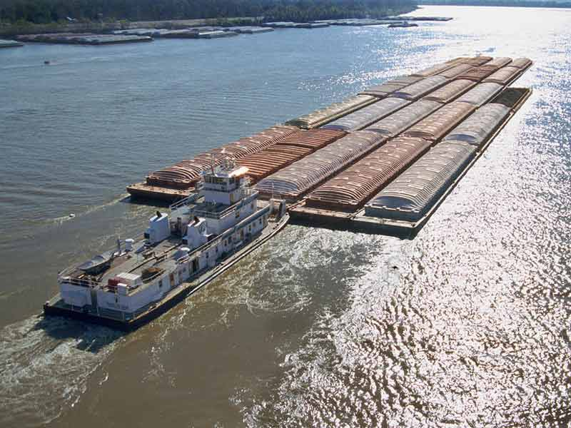 Barging Operation Direct Freight Solutions